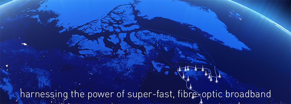 harnessing the power of super-fast, fibre optic broadband
